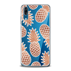 Lex Altern TPU Silicone Huawei Honor Case Graphic Pineapple
