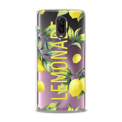 Lex Altern TPU Silicone Phone Case Lemon Fresh