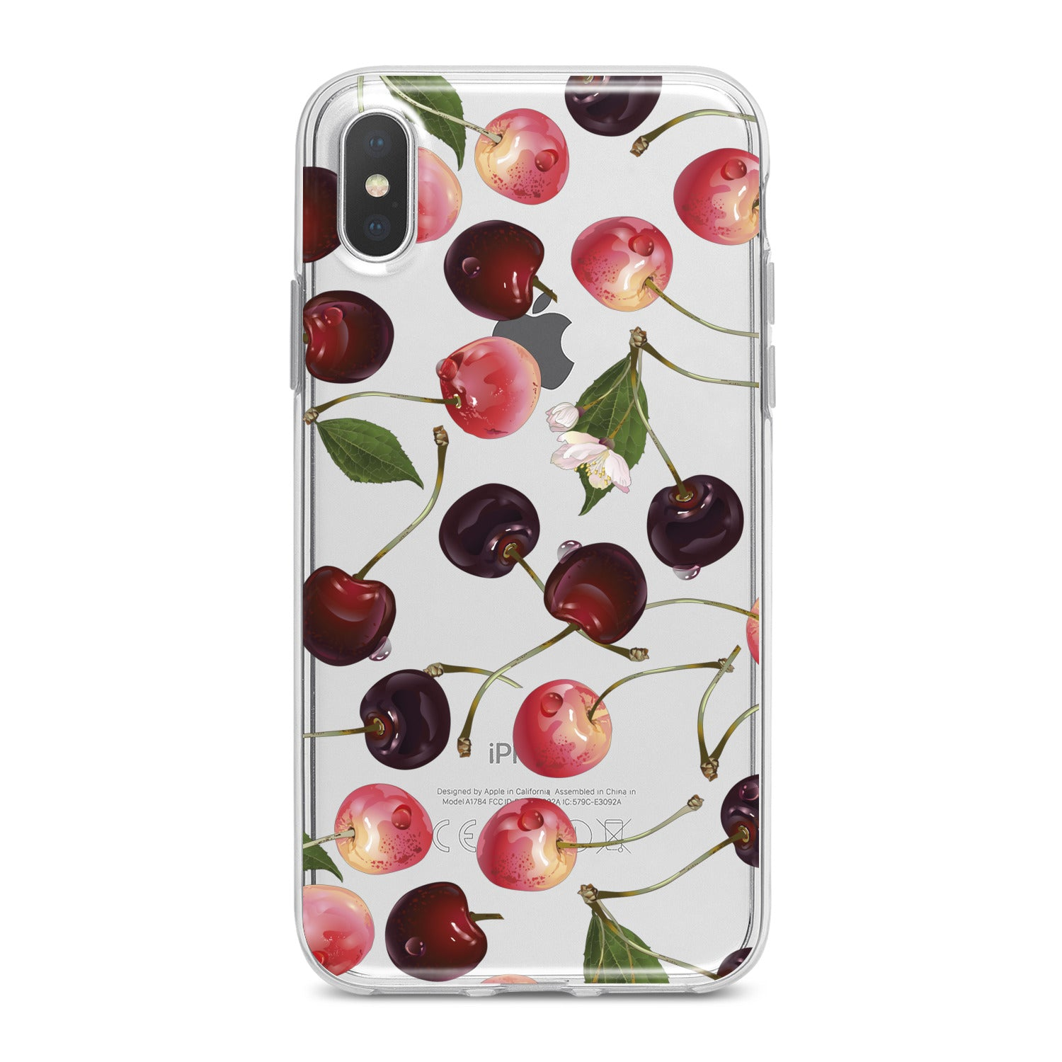 Lex Altern Sweet Cherries Phone Case for your iPhone & Android phone.