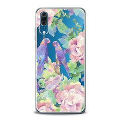 Lex Altern TPU Silicone Huawei Honor Case Purple Parrots