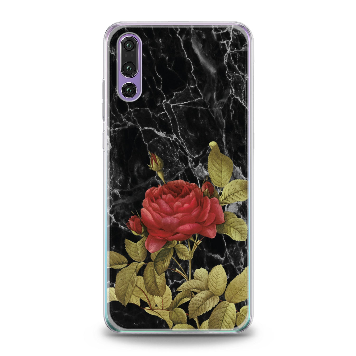 Lex Altern Red Rose Huawei Honor Case