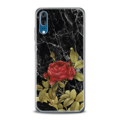 Lex Altern TPU Silicone Huawei Honor Case Red Rose