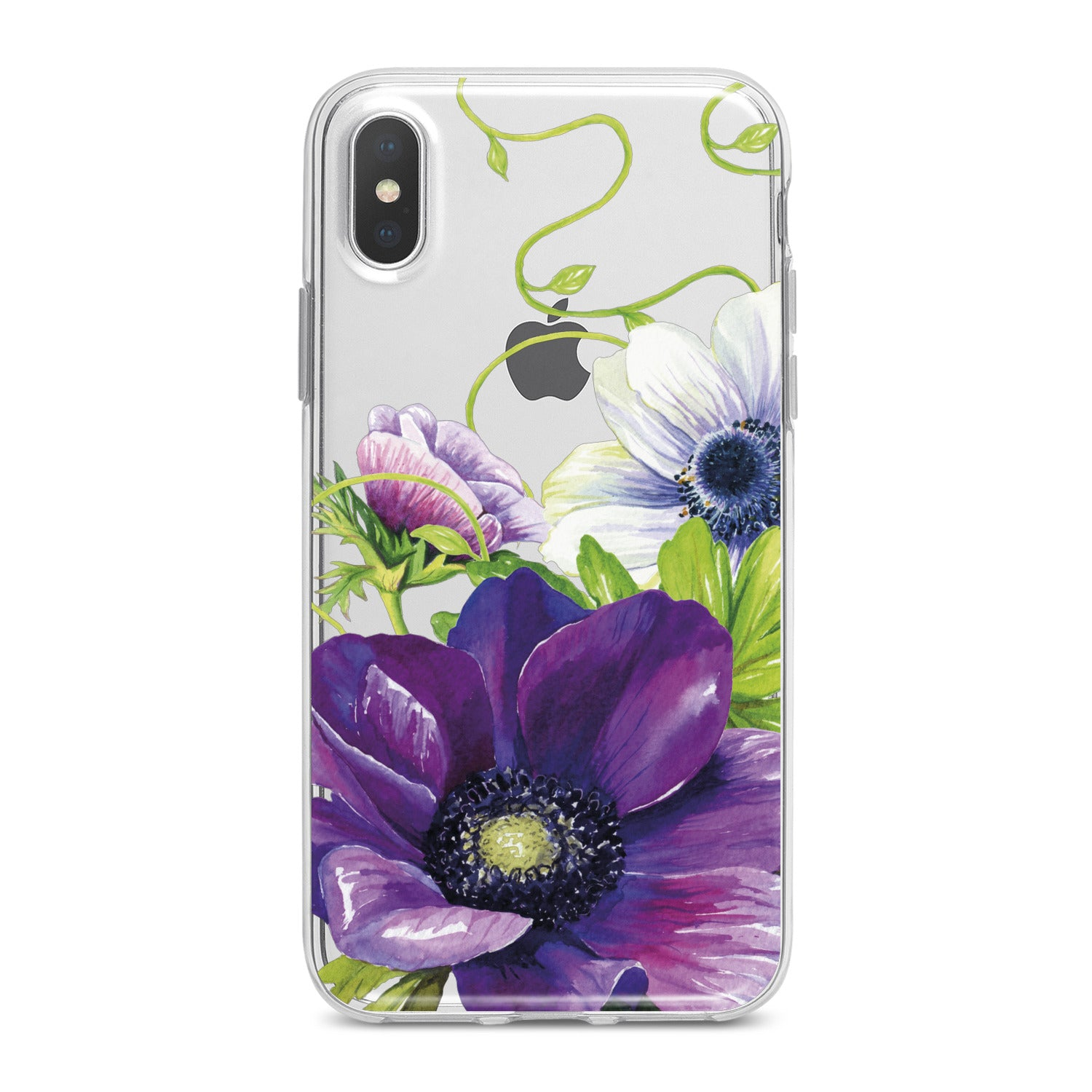 Lex Altern Purple Flower Phone Case for your iPhone & Android phone.