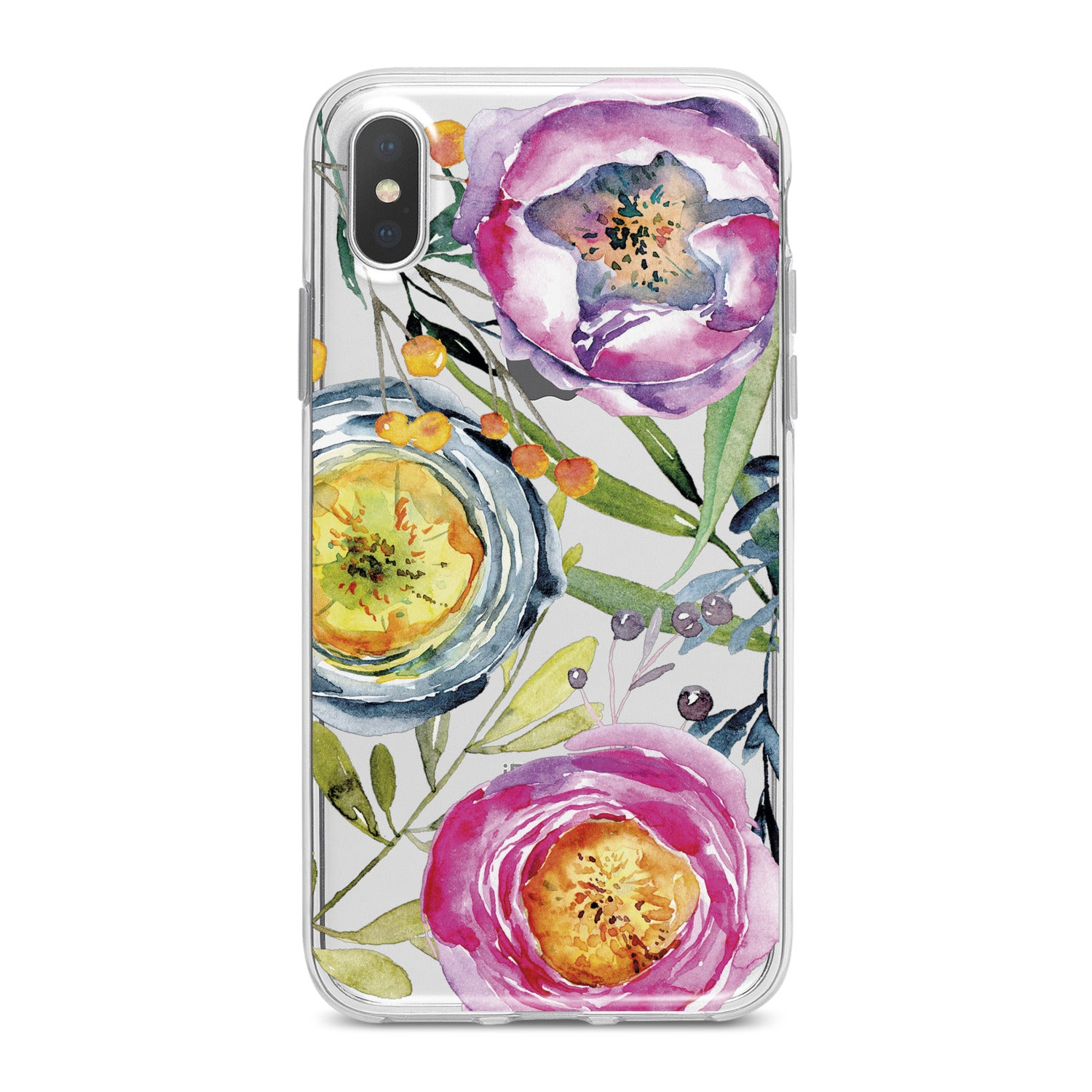 Lex Altern Colorful Tea Rose Phone Case for your iPhone & Android phone.