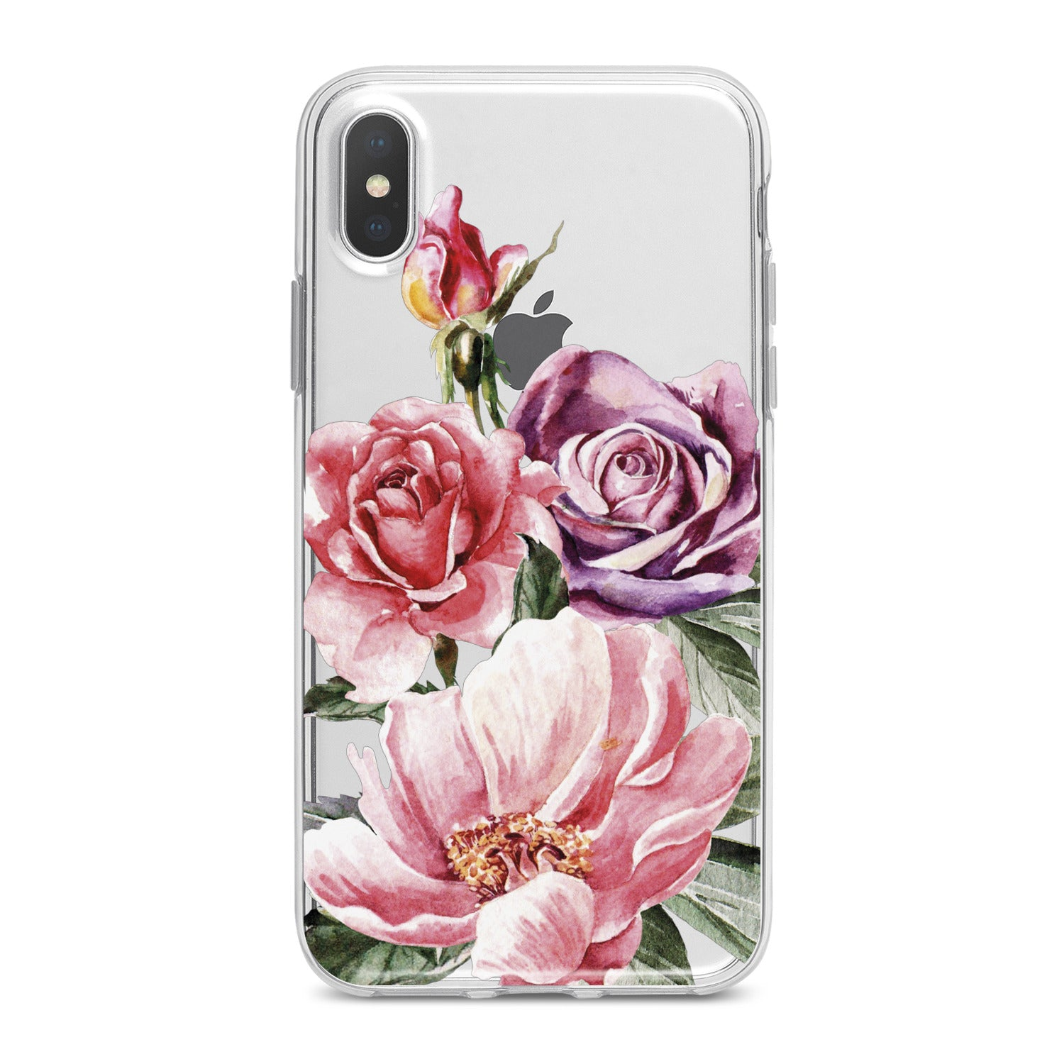 Lex Altern Colorful Floral Bouquet Phone Case for your iPhone & Android phone.