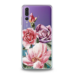 Lex Altern Colorful Floral Bouquet Huawei Honor Case