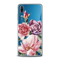 Lex Altern TPU Silicone Huawei Honor Case Colorful Floral Bouquet