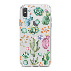 Lex Altern Green Cactuses Phone Case for your iPhone & Android phone.