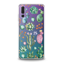 Lex Altern Green Cactuses Huawei Honor Case