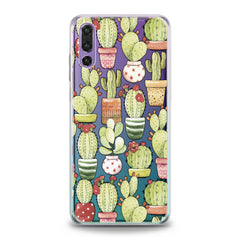 Lex Altern Funny Cactus Theme Huawei Honor Case