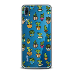 Lex Altern TPU Silicone Huawei Honor Case Painted Cactuses