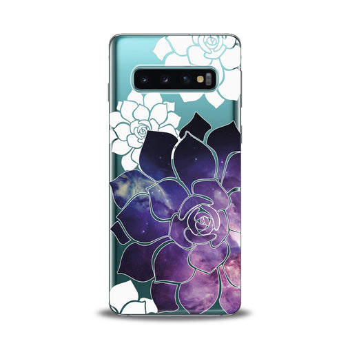 Lex Altern Abstract Flowers Samsung Galaxy Case