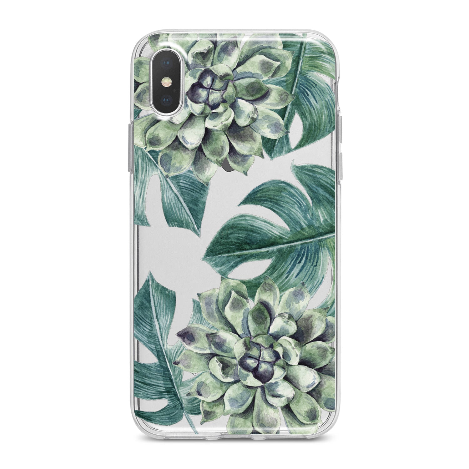 Lex Altern Green Leaves Bloom Phone Case for your iPhone & Android phone.