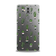 Lex Altern TPU Silicone Phone Case Simple Green Cactus