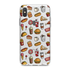 Lex Altern Tasty Food Pattern Phone Case for your iPhone & Android phone.