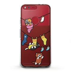 Lex Altern TPU Silicone Phone Case Cute Kitties