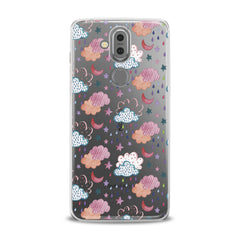 Lex Altern TPU Silicone Phone Case Cute Clouds