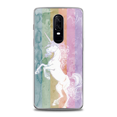 Lex Altern TPU Silicone OnePlus Case Watercolor Cute Unicorn