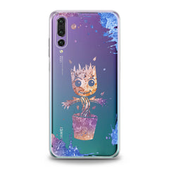 Lex Altern TPU Silicone Huawei Honor Case Pink Groot