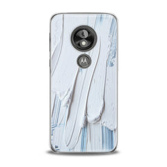Lex Altern TPU Silicone Phone Case White Gouache Pattern