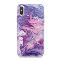 Lex Altern Abstract Violet Print Phone Case for your iPhone & Android phone.