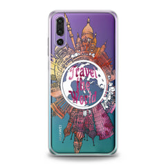 Lex Altern TPU Silicone Huawei Honor Case Traveling Pattern