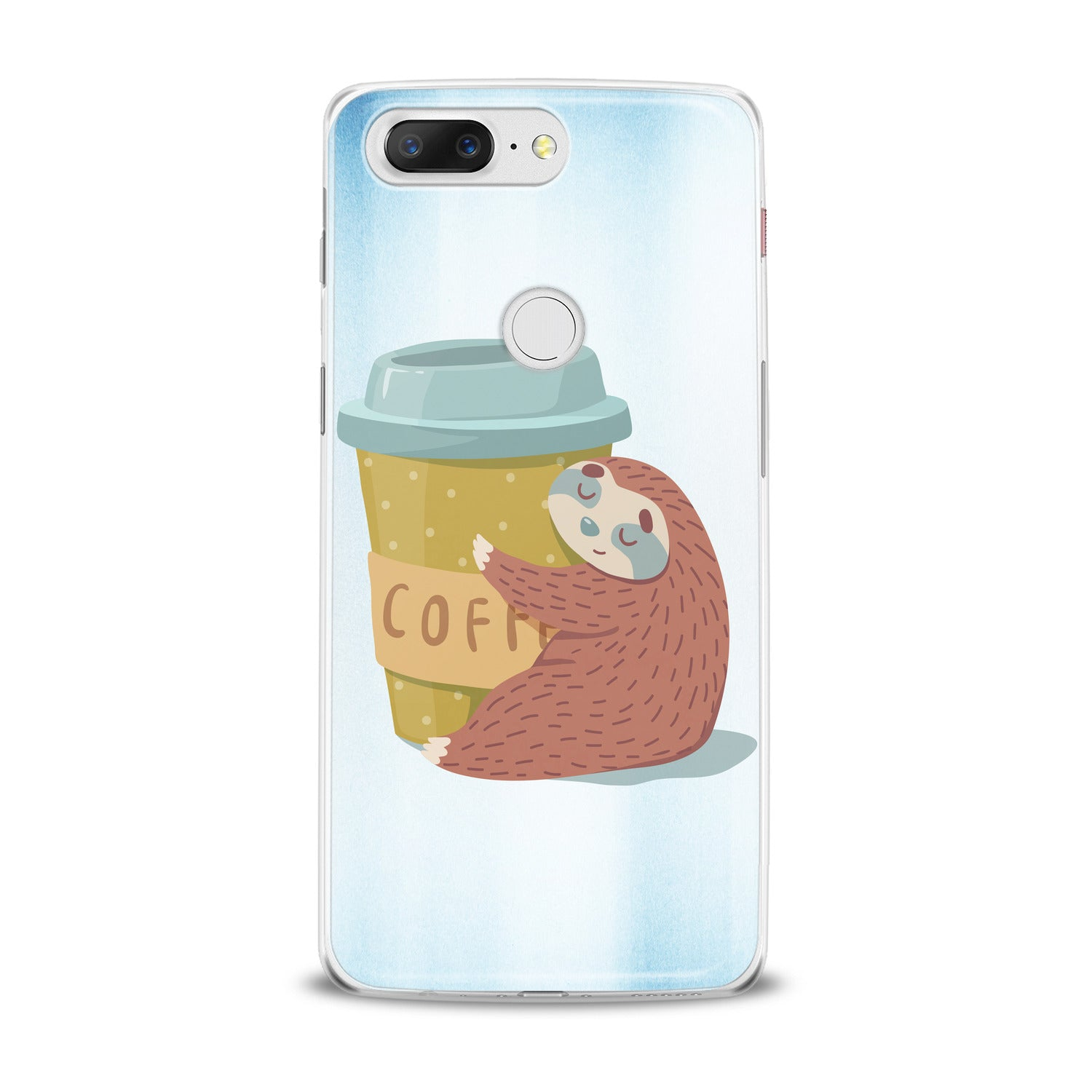 Lex Altern Coffe Sloth OnePlus Case