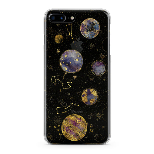 Lex Altern Golden Сonstellation Phone Case for your iPhone & Android phone.