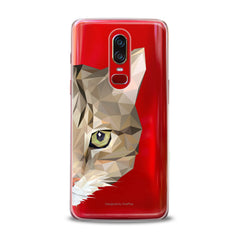 Lex Altern TPU Silicone OnePlus Case Graphical Cat