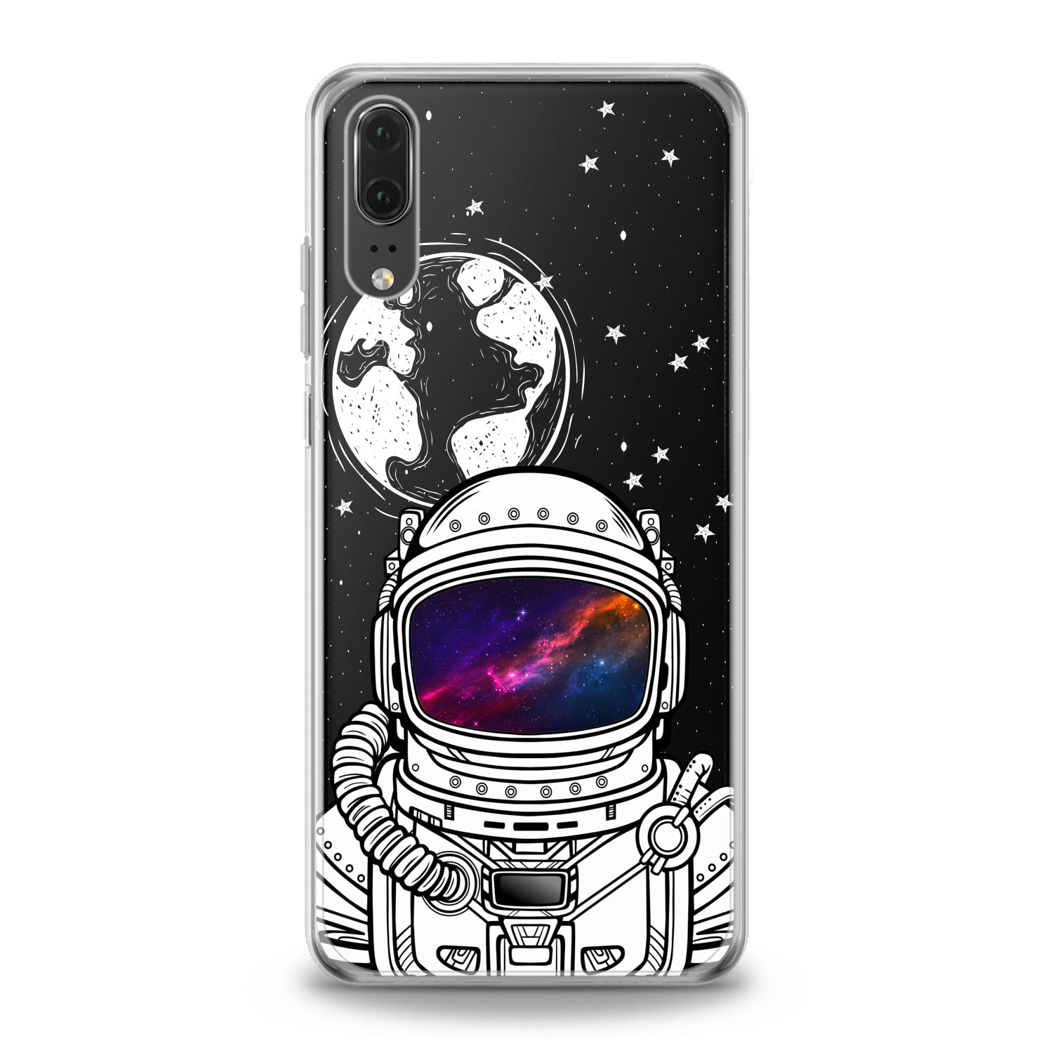 Lex Altern Galaxy Astronaut Huawei Honor Case