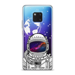 Lex Altern TPU Silicone Huawei Honor Case Galaxy Astronaut