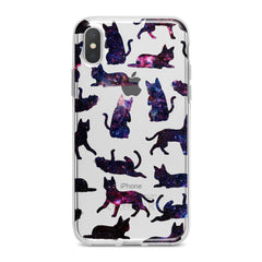 Lex Altern Galaxy Cats Phone Case for your iPhone & Android phone.