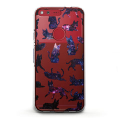 Lex Altern TPU Silicone Phone Case Galaxy Cats