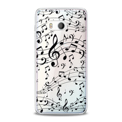 Lex Altern Black Treble Clef HTC Case