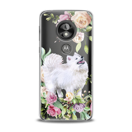 Lex Altern White Samoyed Dog Motorola Case