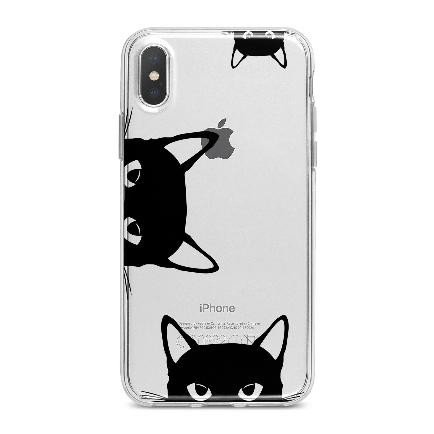 Lex Altern Elegant Black Cats Phone Case for your iPhone & Android phone.
