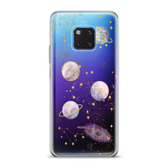 Lex Altern TPU Silicone Huawei Honor Case Awesome Planets Theme