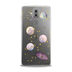 Lex Altern TPU Silicone Phone Case Awesome Planets Theme