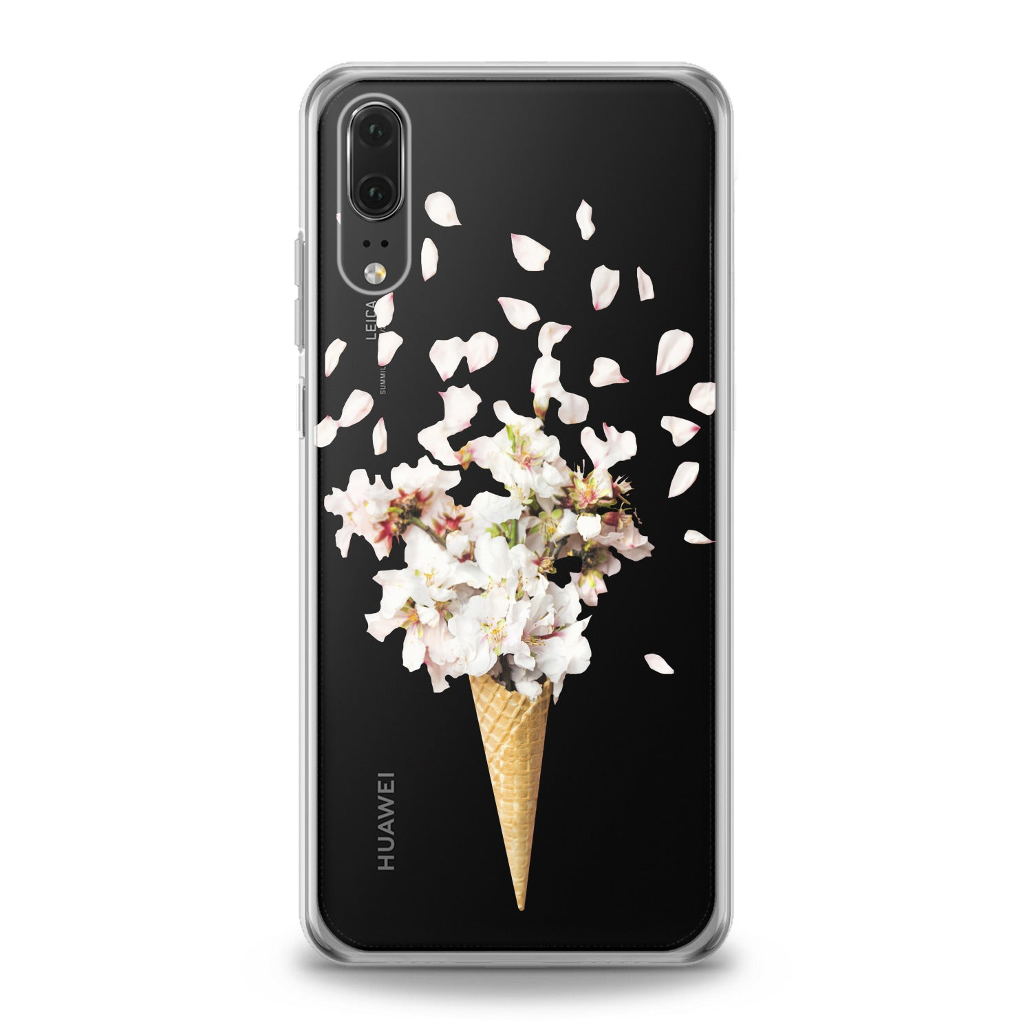 Lex Altern Floral Ice Cream Huawei Honor Case