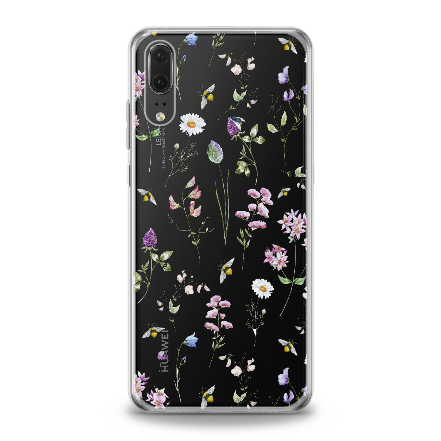 Lex Altern Wildflowers Theme Huawei Honor Case