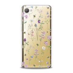 Lex Altern TPU Silicone HTC Case Wildflowers Theme