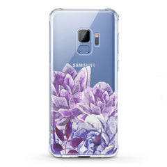Lex Altern TPU Silicone Phone Case Awesome Purple Flowers