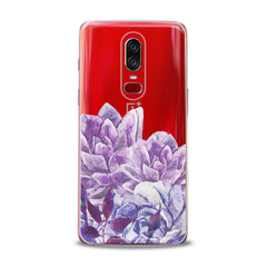 Lex Altern TPU Silicone OnePlus Case Awesome Purple Flowers