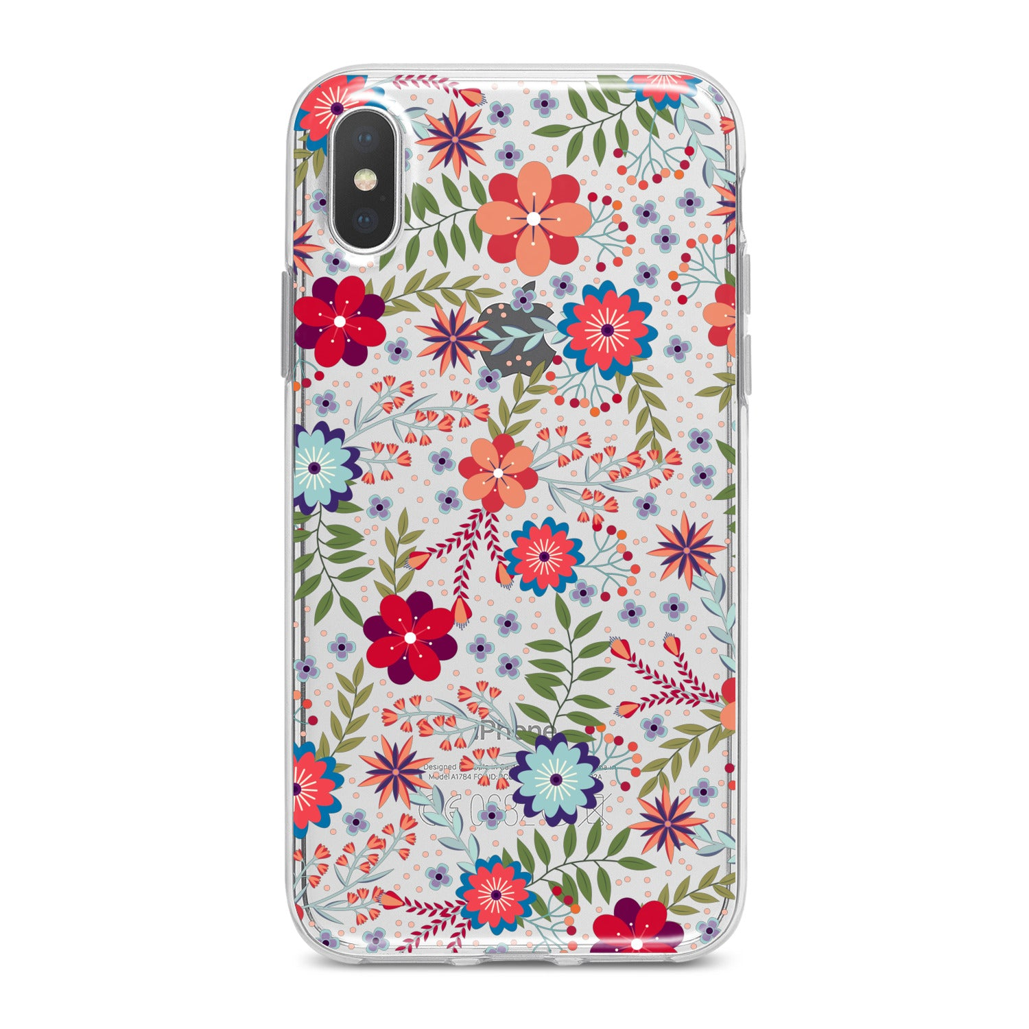 Lex Altern Colorful Floral Pattern Phone Case for your iPhone & Android phone.