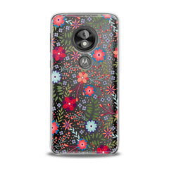 Lex Altern TPU Silicone Phone Case Colorful Floral Pattern