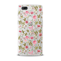 Lex Altern Cute Pink Plants OnePlus Case