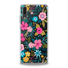 Lex Altern TPU Silicone Huawei Honor Case Graphical Colored Flowers