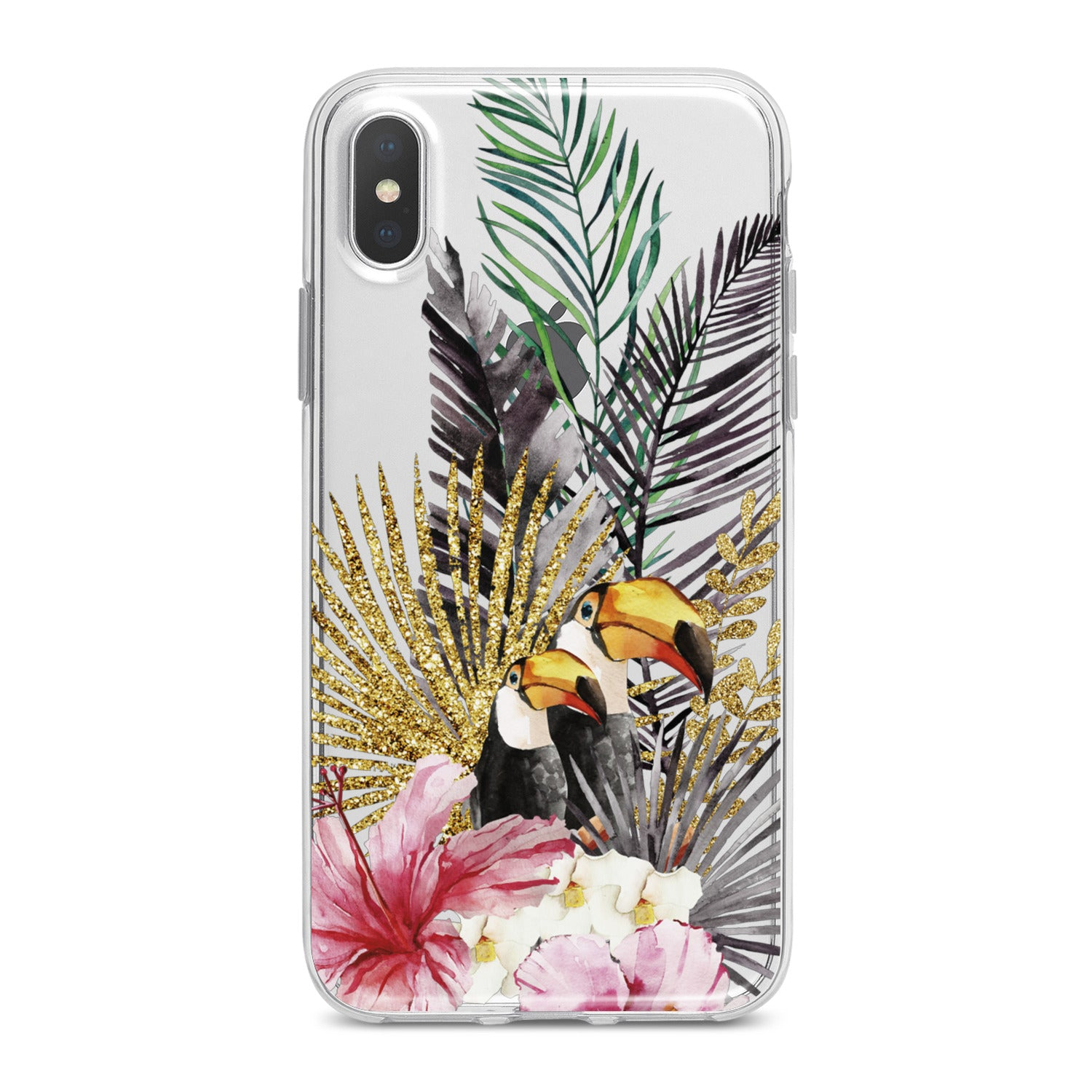 Lex Altern Tropical Birds Theme Phone Case for your iPhone & Android phone.