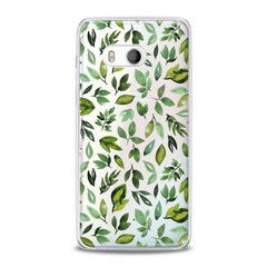 Lex Altern Simple Green Leaves HTC Case