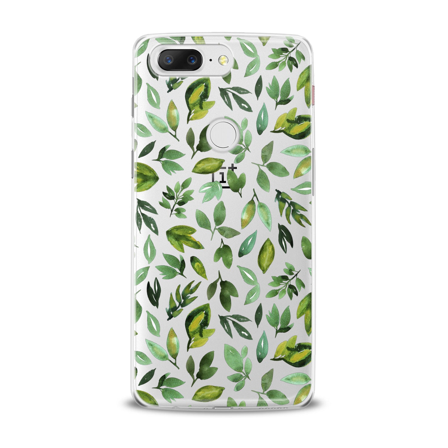 Lex Altern Simple Green Leaves OnePlus Case